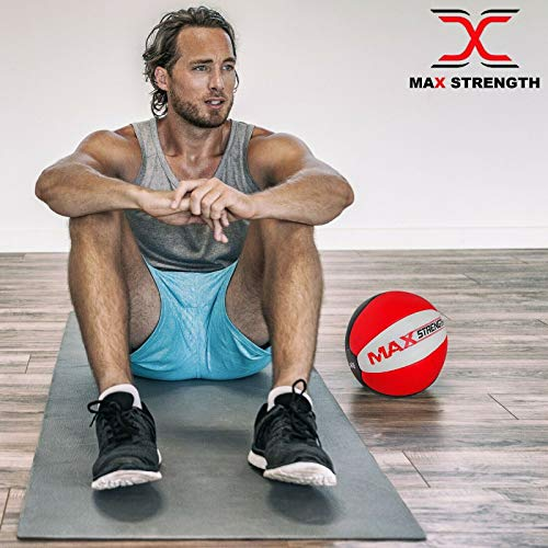MAXSTRENGTH-Heavy-Duty-Maya-Leather-Medicine-Ball-for-Fitness-Gym-and-Exercise-in-multicolor-8kg