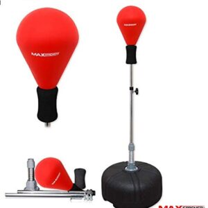 Free Standing Boxing Punching Bag Speed Ball Adjustable Height Freestanding