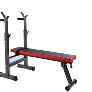 Max Strength Adjustable Weight Bench dumbbell flat stool/Chair Sit-up Bench Household barbell bed fitness equipment Weight-lifting bed Professional bird bench multi-function foldable bench press