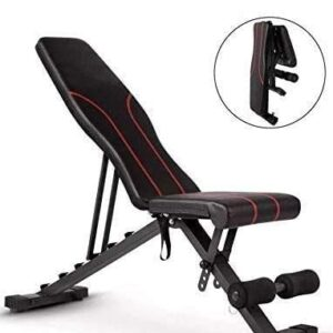 Multifunction Weight Bench ab Bench, Incline Decline Foldable Weight Lifting Bench Adjustable Sit Up Bench